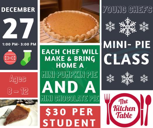 Mini - Pie Class