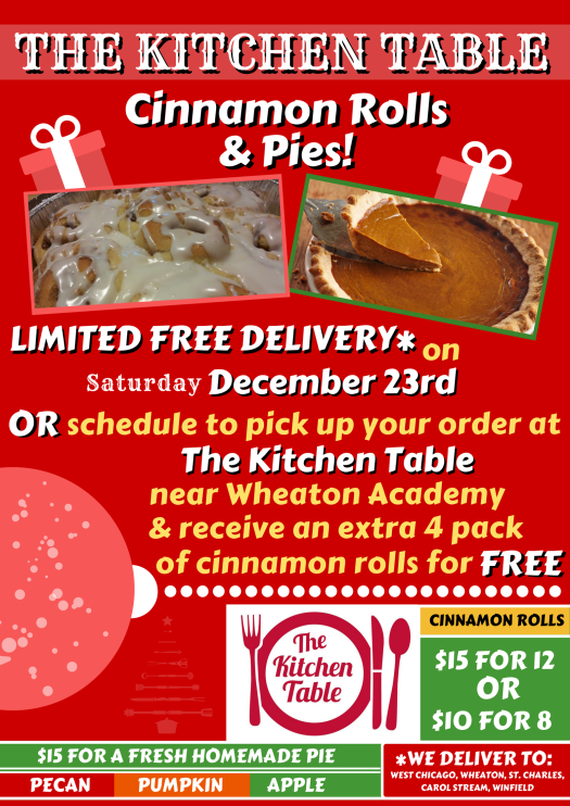 Cinnamon Rolls & Pies